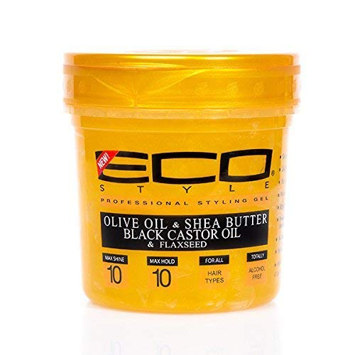 Eco Style Professional Styling Gel Gold
