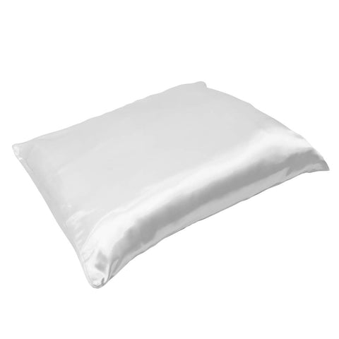 ADAMA Satin Pillowcase, White