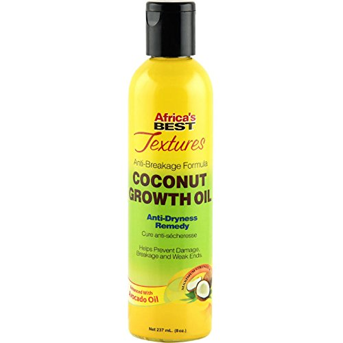 Africa's Best Textures Coconut Growth Oil