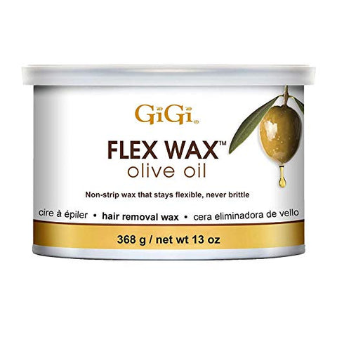 GiGi Olive Oil Flex Wax - Non-Strip Hair Removal Wax