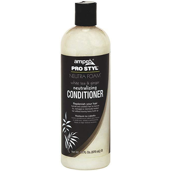Ampro Pro Style Neutra Foam Conditioner, 16 Ounce