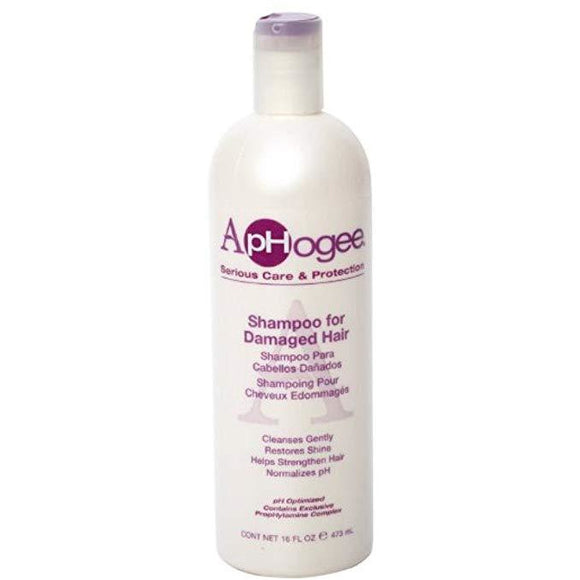 Aphogee Shampoo for Damaged Hair, 16 oz