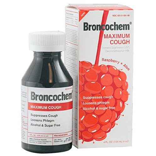 Broncochem Maximum Cough Suppressant 4Oz