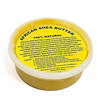 African Secret 100% Organic Shea Butter Yellow 8 Oz