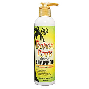Bronner Brothers Tropical Roots Clarifying Shampoo 8 Oz
