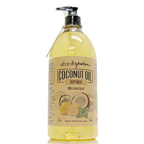 Urban Hydration Body Wash, Natural, Lemon, 32 Ounce
