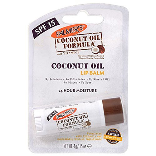Palmer's Coconut Oil Formula Lip Balm With Vitamin E (3 Pack) 0.3 Oz