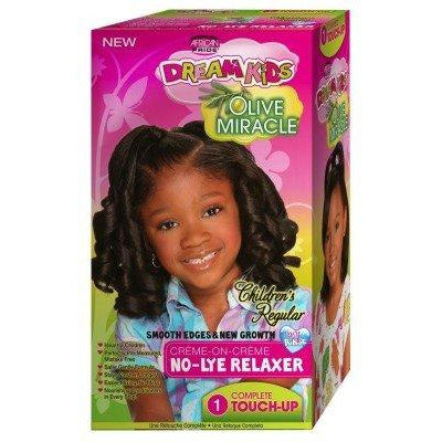 African Pride Dream Kids Olive Miracle Touch-Up Relaxer