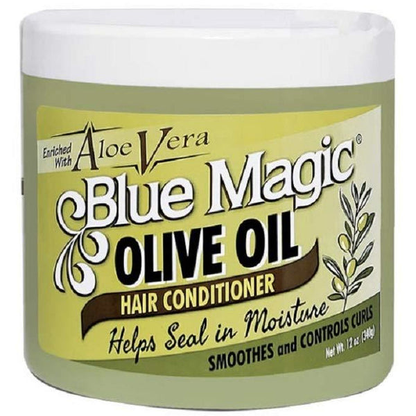Blue Magic Olive Oil Hair Conditioner with Aloe Vera