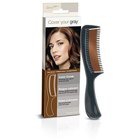 Cover Your Gray Color Comb - Medium Brown