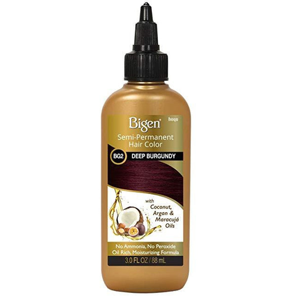 Bigen Semi-Permanent Haircolor #Bg2 Deep Burgundy 3 Ounce (88ml)