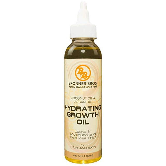 Bronner Brothers Hydrating Growth Oil 4 Oz