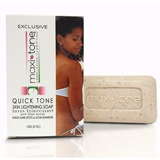 Clear Essence Maxi-Tone Quick Tone Skin Lightening Soap With Shea Butter - 5 Oz