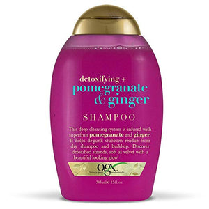 Organix Detoxifying + Pomegranate & Ginger Shampoo, 13 Ounce