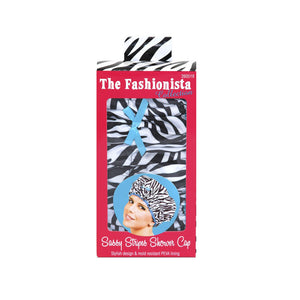 Betty Dain Shower Cap, Sassy Stripes