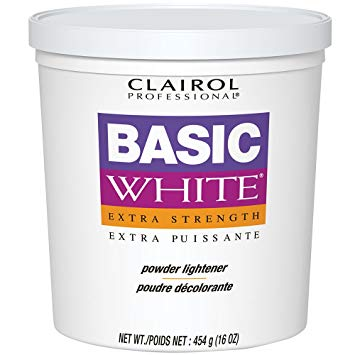 Clairol Professional Basic White Extra Strength Powder Lightener - 1 Lb