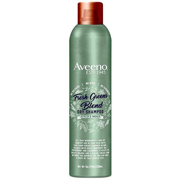 Aveeno Shampoo Dry Fresh Greens Blend 5 Ounce (238ml)