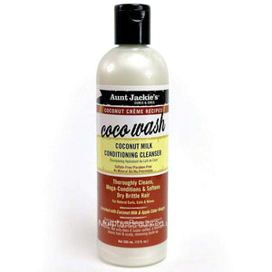 Aunt Jackies Curls Coconut Wash Conditioner Cleanser 12Oz