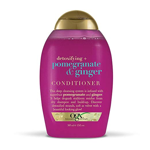 Organix Detoxifying + Pomegranate & Ginger Conditioner, 13 Ounce