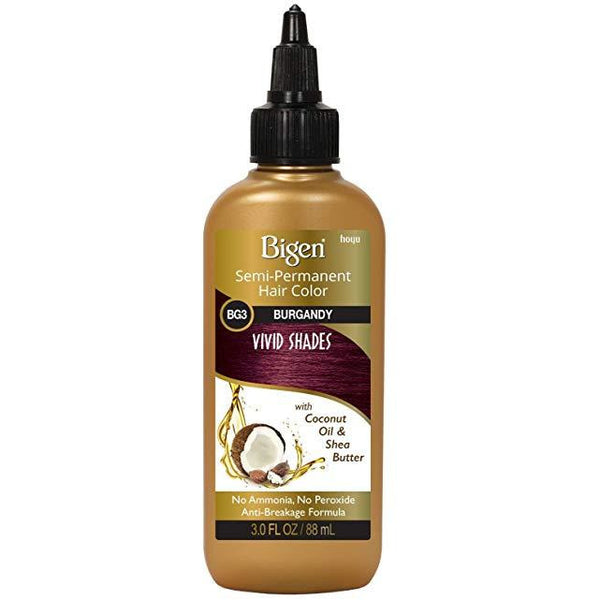 Bigen Semi-Permanent Haircolor #Bg3 Burgundy 3 Ounce (88ml)