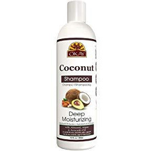 Okay Deep Moisturizing Coconut Shampoo - 12 Oz