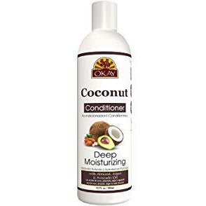 Okay Coconut Oil Deep Moisturizing Conditioner - 12 Oz