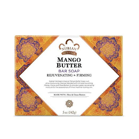 Nubian Heritage Soap Bar, Honey and Black Seed, 5 Ounce