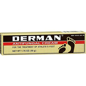 Derman Antifungal Cream for the Treatment of Athlete's Foot