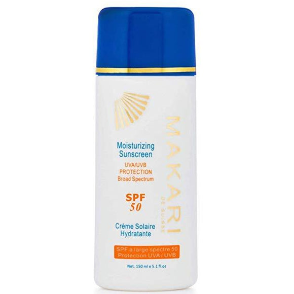 Makari Moisturizing Sunscreen Broad Spectrum SPF 50 Lotion 5.1 fl oz.