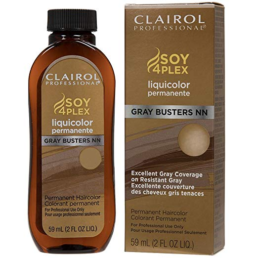 Clairol Professional LiquiColor, 5NN Gray Busters Lightest Rich Neutral Brown, 2 Ounce