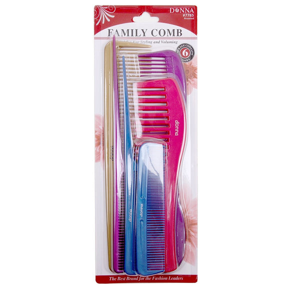 Donna Premium Comb-Tail Pack Assorted