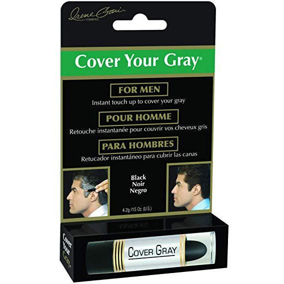 Cover Your Gray Mens Touch-Up Stick - Black
