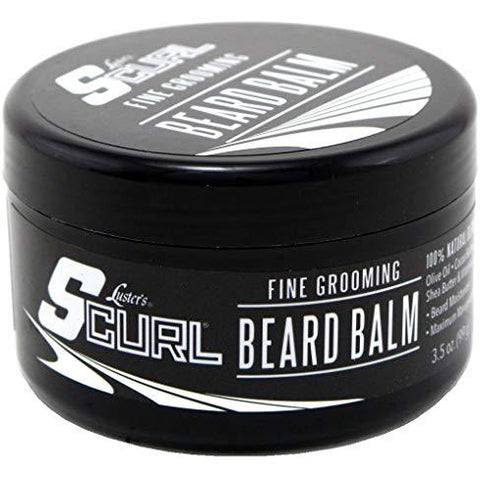 Lusters S-Curl Beard Balm 3.5 Ounce (103ml)