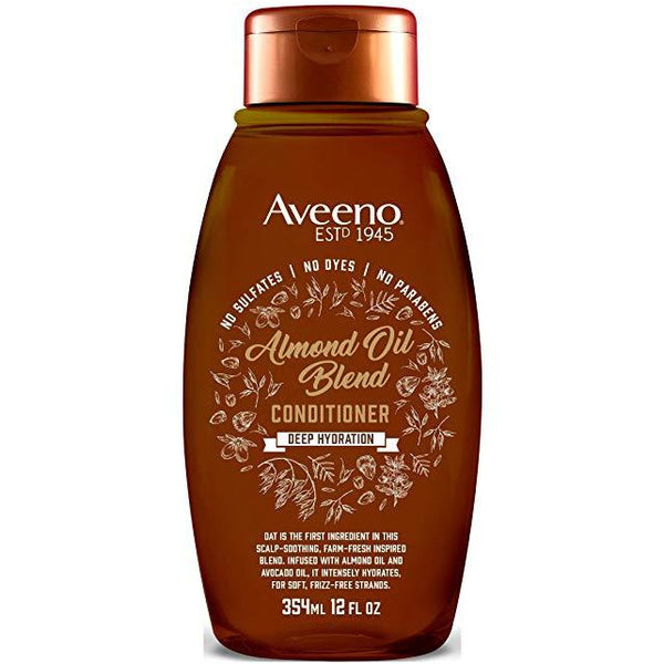 Aveeno Conditioner Almond Oil Blend 12 Ounce (354ml)