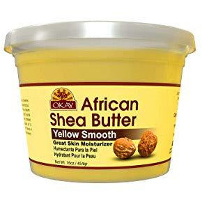 OKAY African Shea Butter - Yellow Smooth