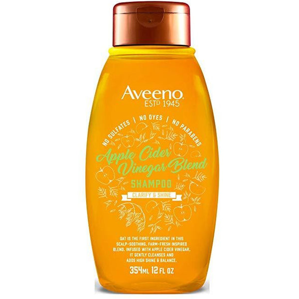 Aveeno Shampoo Apple Cider Vinegar Blend 12 Ounce (354ml)