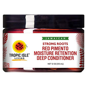 Tropic Isle Living Jamaican Strong Roots Red Pimento Moisture Retention Deep Conditioner 12 oz