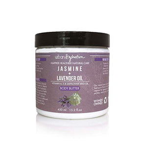 Urban Hydration Jasmine & Lavender Oil Body Butter, 15.2 Oz