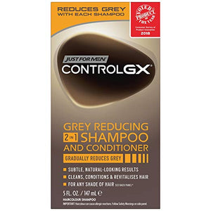 Just For Men Control Gx 2 In 1 Shampoo And Conditioner 5 Oz