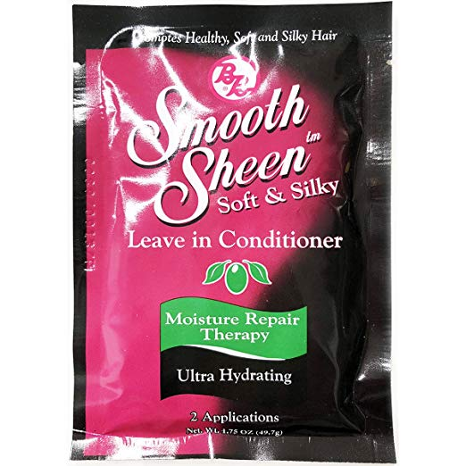 Bronner Brothers Smooth Sheen Soft & Silky Leave In Conditioner, 1.75 Ounce (12 Pack)