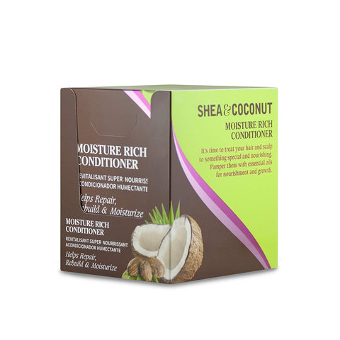 GroHealthy Shea & Coconut Moisture Rich Conditioner Display