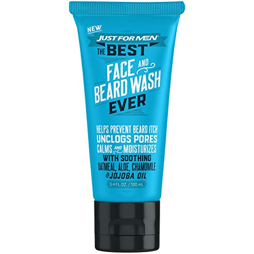Just For Men Face And Beard Wash 3.4 Oz