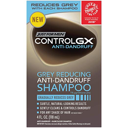Just For Men Control Gx Anti-Dandruff Shampoo 4 Oz