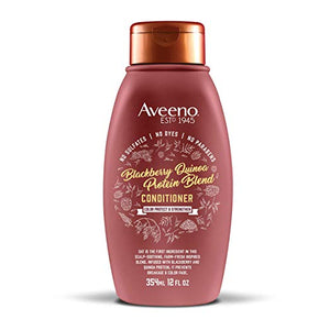 Aveeno Scalp Soothing Blackberry Quinoa Protein Blend Conditioner 12 Oz