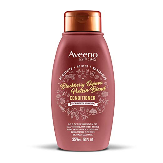 Aveeno Scalp Soothing Blackberry Quinoa Protein Blend Conditioner 12 fl. oz