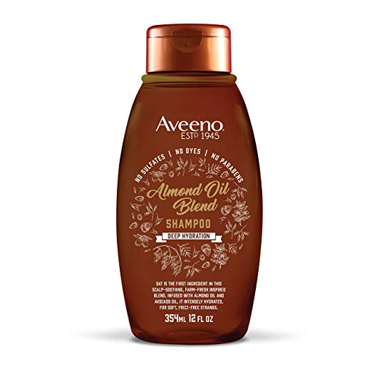 Aveeno Shampoo Almond Oil Blend 12 Ounce (354ml)