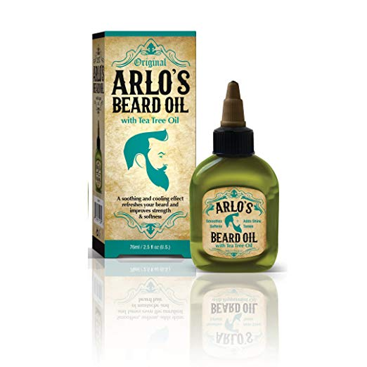 Arlo's Beard Oil with Tea Tree Oil, 2.5 Fluid Ounce