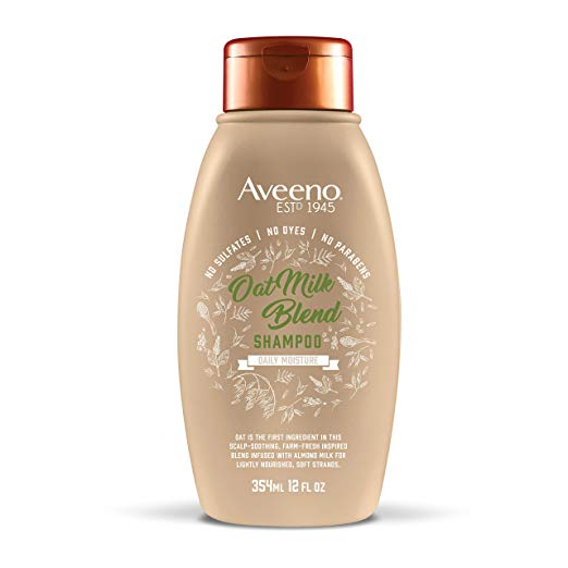 Aveeno Scalp Soothing Oat Milk Blend Shampoo, 12 Oz
