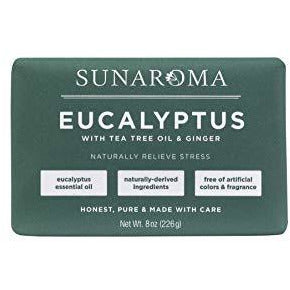 Sunaroma Eucalyptus with Tea Tree Oil & Ginger Soap