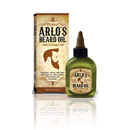 Arlo's Beard Oil with Coconut Oil, 2.5 Fluid Ounce